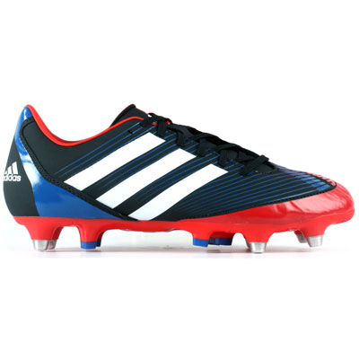 Adidas Rugby Boots Incurza TRX Rugby Boots Black/Red/Blue